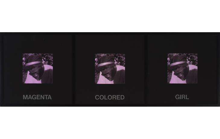 Carrie Mae Weems, Magenta Colored Girl