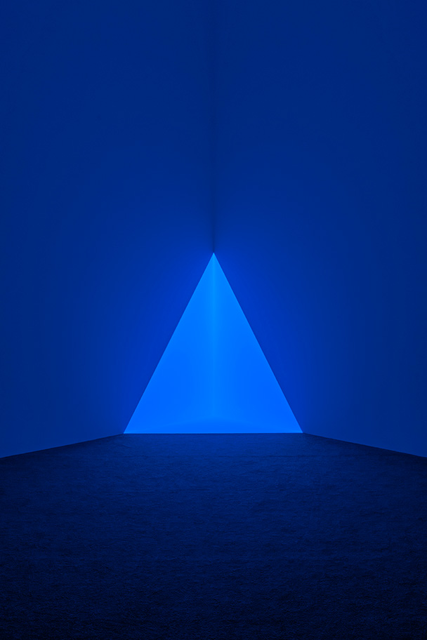 Exhibition Image of Gard Blue by James Turrell