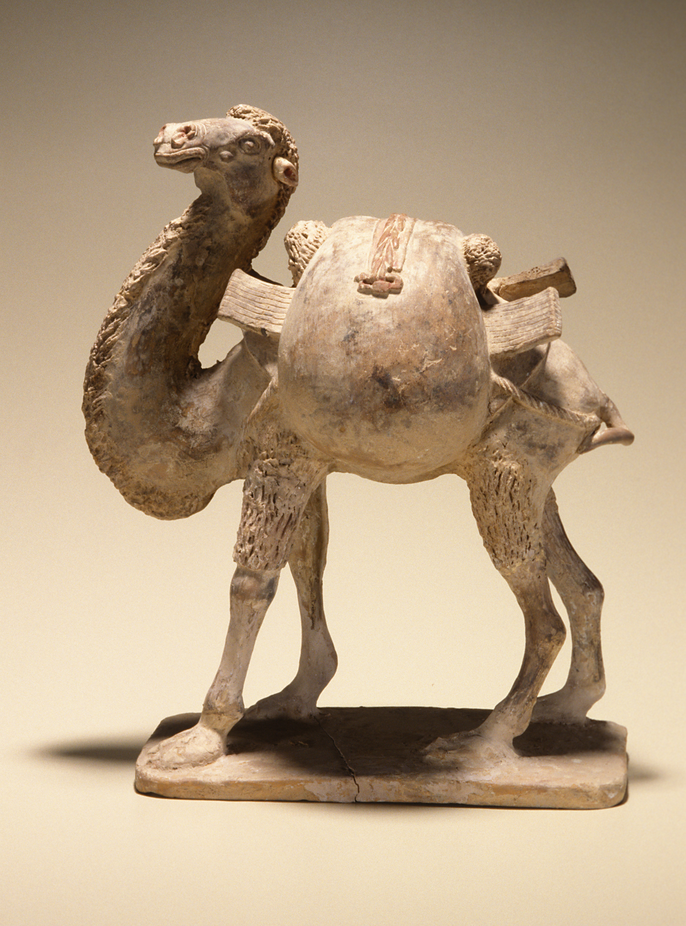 Bactrian camel (tomb figure)