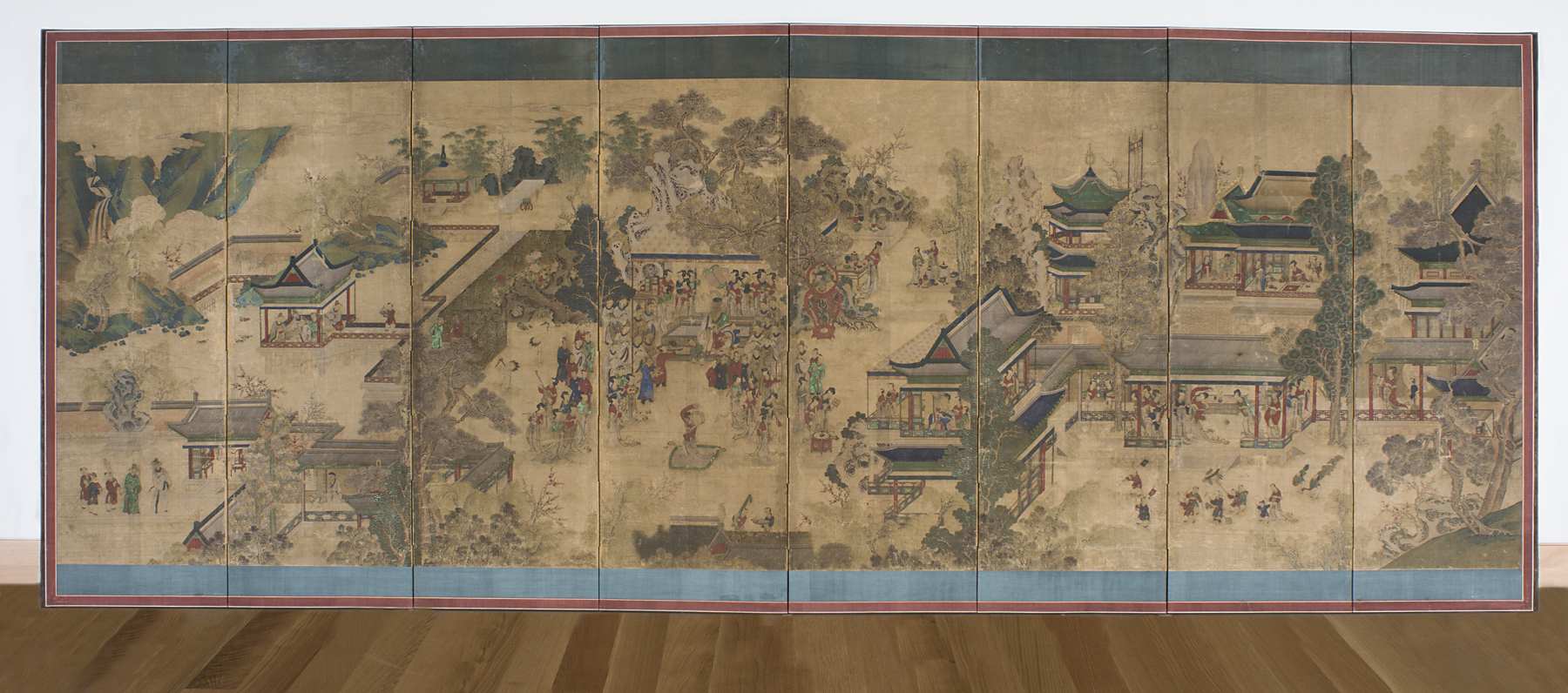 郭汾陽行樂圖 Gwakbunyang hyangrakdo (Guo Ziyi's Enjoyment-of-Life Banquet Screen)