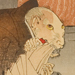 detail: Priest Raigō of Mii Temple Transformed into a Rat by Tsukioka Yoshitoshi
