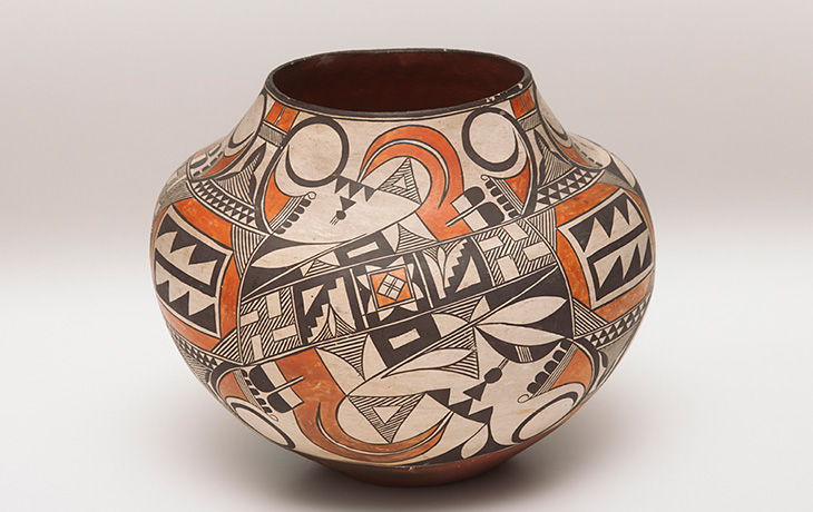 Acoma peoples, jar