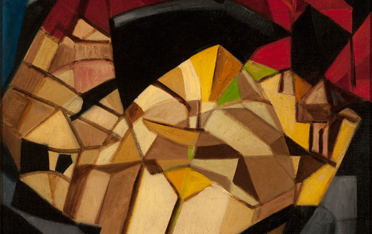 Detail: Abstraction: Windows by Jeanne Rij-Rousseau