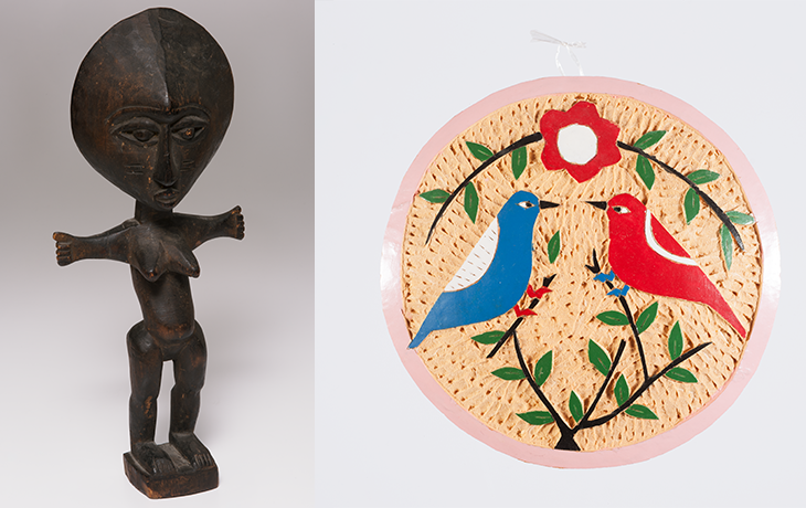 Examples of African Art in the Classroom Collection