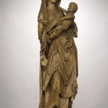 "<a href=""https://spencerartapps.ku.edu/collection-search#/object/9170"" target=""_blank""><i>Virgin and Child on the Crescent Moon</i> by Tilman Riemenschneider</a>"