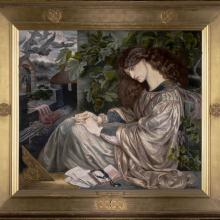 <a href='http://collection.spencerart.ku.edu/eMuseumPlus?service=ExternalInterface&module=collection&objectId=9767&viewType=detailView' target='_blank'><i>La Pia de' Tolomei</i> by Dante Gabriel Rossetti</a>