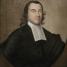 <a href='http://collection.spencerart.ku.edu/eMuseumPlus?service=ExternalInterface&module=collection&objectId=11223&viewType=detailView' target='_blank'><i>Portrait of the Rev. Ellis Gray</i> by Joseph Badger</a>