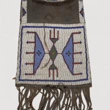 <a href='http://collection.spencerart.ku.edu/eMuseumPlus?service=ExternalInterface&module=collection&objectId=33343&viewType=detailView' target='_blank'><i>dispatch case</i> by Kiowa peoples</a>