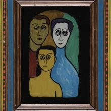 <a href='http://collection.spencerart.ku.edu/eMuseumPlus?service=ExternalInterface&module=collection&objectId=45575&viewType=detailView' target='_blank'><i>The Family</i> by Gabriele Münter</a>