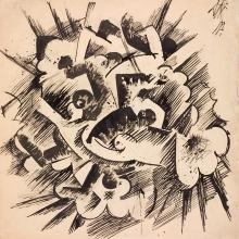 <a href='http://collection.spencerart.ku.edu/eMuseumPlus?service=ExternalInterface&module=collection&objectId=30470&viewType=detailView' target='_blank'><i>Explosion</i> by Otto Dix</a>