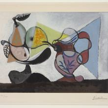 <a href='http://collection.spencerart.ku.edu/eMuseumPlus?service=ExternalInterface&module=collection&objectId=21915&viewType=detailView' target='_blank'><i>Nature morte aux poires et au pichet (Still Life with Pears and Pitcher)</i> by Pablo Picasso</a>