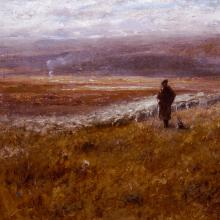 <a href='https://spencerartapps.ku.edu/collection-search#/object/24915' target='_blank'><i>A Kansas Ranch</i> by Robert Swain Gifford</a>
